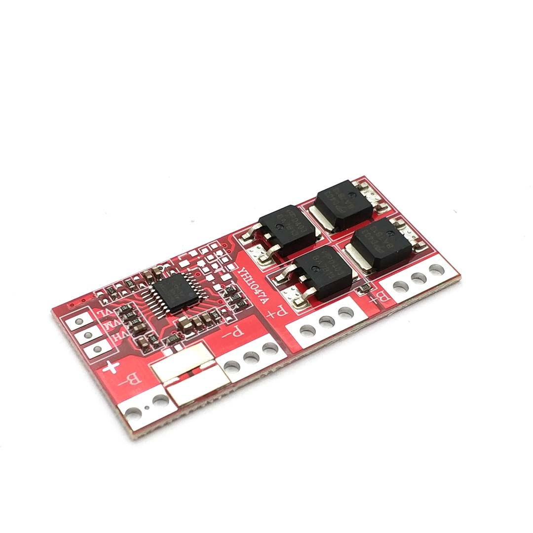 3S 4S 30A 14.4V 14.8V 16.8V Current Li-ion Lithium Battery 18650 BMS Charger Protection Board image