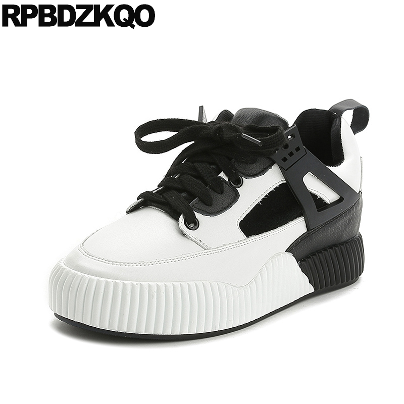 Dames Vrouwen Sneakers Mooie Antislip Zool Dikke Lift Flats Schoenen nWw1XxEqx
