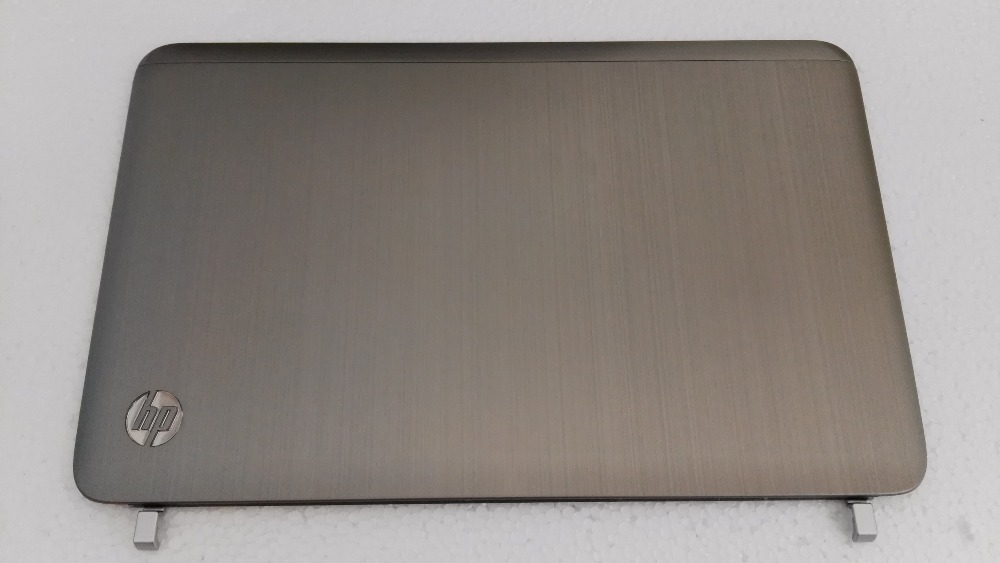 Original For HP Pavilion DV6 DV6-6000 LCD Back Cover silvery 650796-001 brown 640417-001