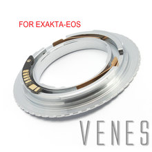 Venes For Exakta EOS 3rd Generation AF Confirm Adapter Suit For Exakta Lens to Canon (D)SLR Camera 4000D/2000D/6D II
