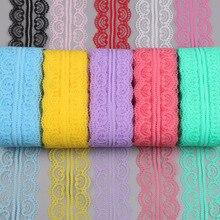 Высокое качество Африканский 10 ярдов/партия кружева 50 мм широкий красивый кружевной ленточный аксессуар Свадебные украшения вечерние ткани с вышивкой