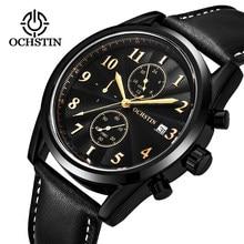 2ae1103b978 OCHSTIN Chronograph Casual Assista Homens de Luxo Da Marca Quartz relógio  de Pulso relogio masculino Militar Relógio Do Esporte .