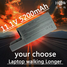 HSW Laptop Battery For Dell Latitude D531 D531N D820 D830 Precision M65 Precision M4300 Mobile Workstation YD626 YD624 bateria(China)