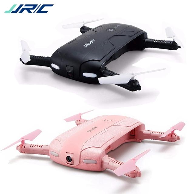 JJR/C JJRC H37 Elfie Mini Selfie Foldable Drone FPV 2MP HD Camera Headless APP Control Quadcopter Black Pink VS E50 E50S