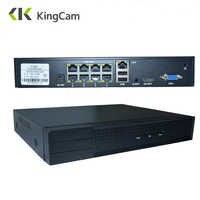 KingCam 4CH/8CH 5MP/4MP/1080 P 48V 802.3af POE NVR système de vidéosurveillance Kit P2P ONVIF enregistreur vidéo réseau pour caméra IP POE