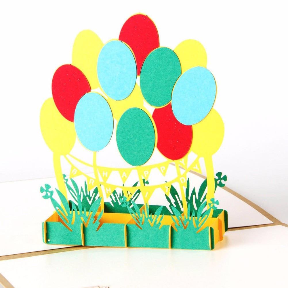 3d Pop Up Cards Valentine Lover Happy Birthday Anniversary Greeting