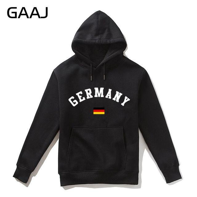 Germany Flag Men Hoodies WomenJacket Casual Deutschland Male Printing Brand Hooded  Sweatshirt Skateboards Brand Clothing Casual