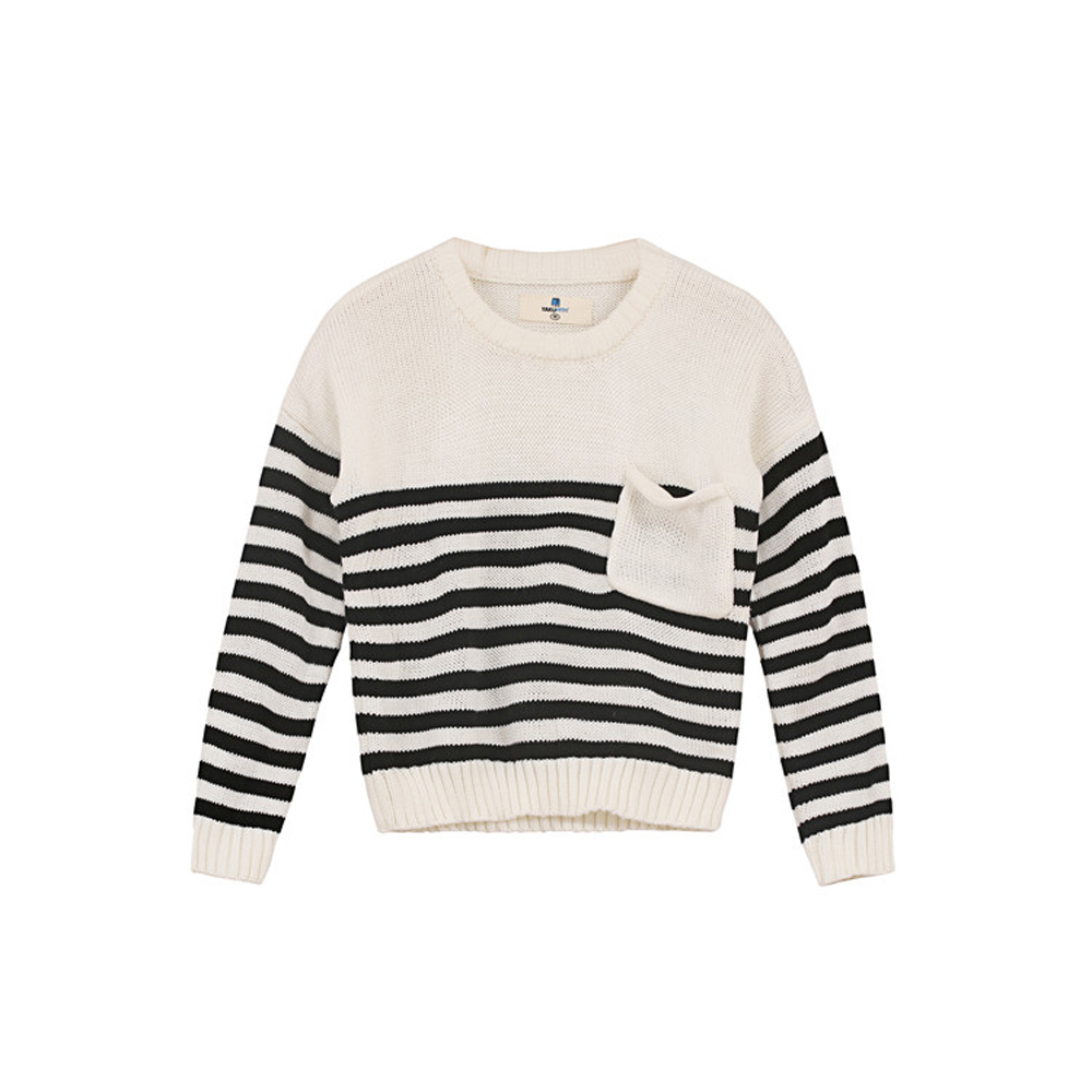 YKYY-YAKUYIYI-Girls-Pullover-Sweater-White-Black-Striped-Baby-Girls-Knit-Tops-Soft-Pockets-Children-Sweater-Girls-Clothing-5