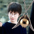 Famous Snitch Necklace Occident Fashion For Harry Potter Snitch Gold Pendant Necklace Chain Silver Wing Pendant VB210 P0.41
