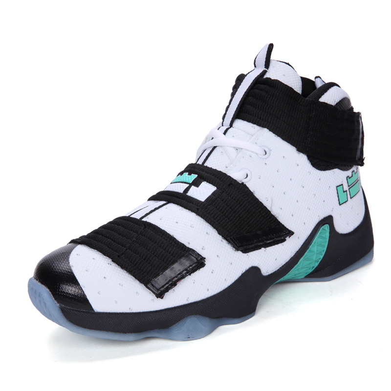 Men Cool Basketball Shoes 2018 New High Top Brand Ankle Boots Sports