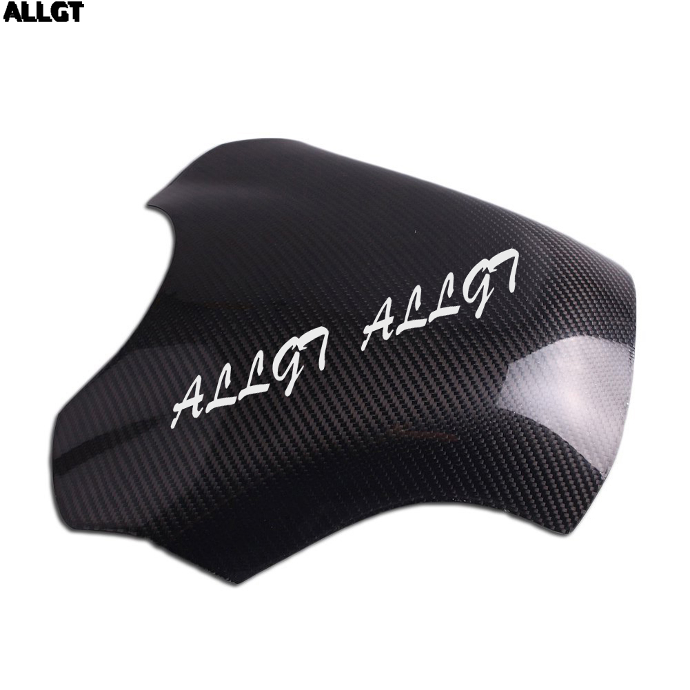 ALLGT New Carbon Fiber Fuel Gas Tank Cover Protector For Yamaha YZF R1 2009 2010 2011 2012 2013 for ford mustang 2008 2009 2010 2011 2012 2013 add on style carbon fiber rear view mirror cover black finish