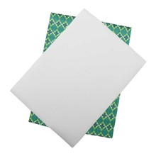 IBOWS St.Patrick's Day Vinyl Leather Sheets Clover