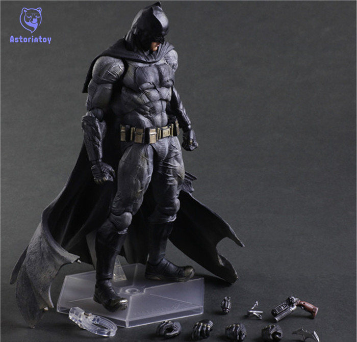 SQUARE ENIX Play Arts KAI Batman v Superman Dawn of Justice NO.1 Batman PVC Action Figure Collectible Model Toy 25cm shf figuarts superman in justice ver pvc action figure collectible model toy