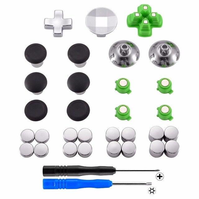 وسادات معدنية مغناطيسية لوحدة تحكم PS4 ، عصا تحكم ، ارتفاع قابل للتعديل ، 31 في 1