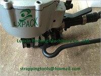 LX-PACK брендовые ручные устройства ручные инструменты для уплотнения со стальным strapPneumatic стальным ремнем инструмент для натяжения пневматич...
