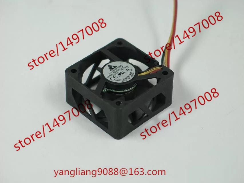Free Shipping For DELTA ASB0312LB, -AV10 DC 12V 0.10A 3-wire 3-pin connector 40mm 30X30X15mm Server Square Cooling Fan free shipping for delta afc0612db 9j10r dc 12v 0 45a 60x60x15mm 60mm 3 wire 3 pin connector server square fan
