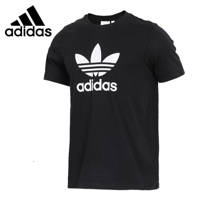 add4372349f Original New Arrival 2018 Adidas Originals TREFOIL T-SHIRT Men s T-shirts  short sleeve Sportswear