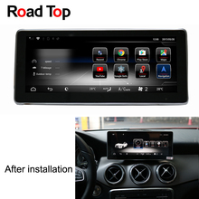 10.25″ Android 7 Octa 8-Core CPU 2+32G Car Radio GPS Navigation Bluetooth WiFi Head Unit Screen for Mercedes Benz CLA C117 X117