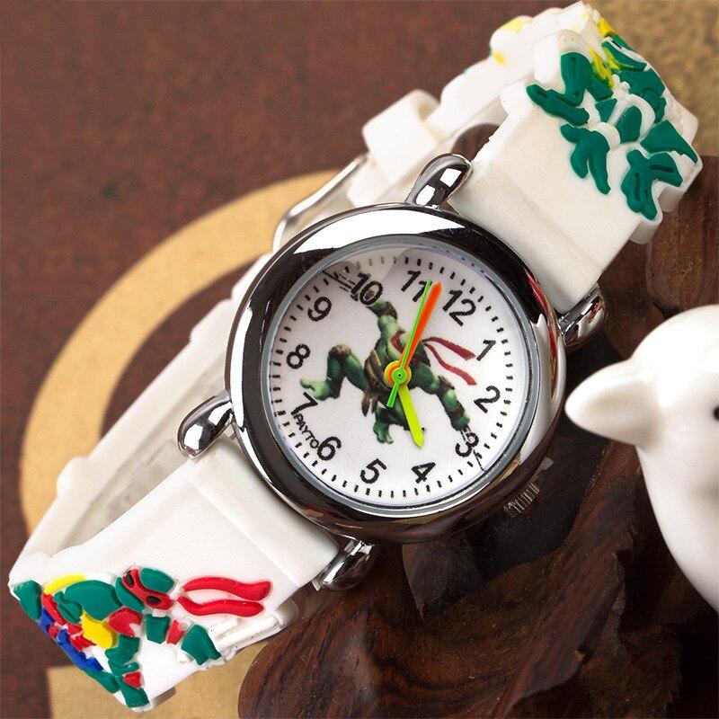 2019 New Listing HBiBi Brand Children's Watch Cartoon Tortoise Kids Watches Children Quartz Outdoor Sport Watch Boys Girls Clock