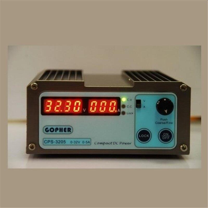CPS-3205E 160W (110Vac/ 220Vac) 0-32V/0-5A,Compact Digital Adjustable DC Power Supply cps 3205 160w 110vac 220vac 0 32v 0 5a compact digital adjustable dc power supply