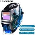 Li batterie/Solar Power Auto Verdunkelung TIG MIG MMA MAG KR KC Elektrische Schweißen Maske/Helme/Schweißer gläser für Schweißer-in Schweißhelme aus Werkzeug bei