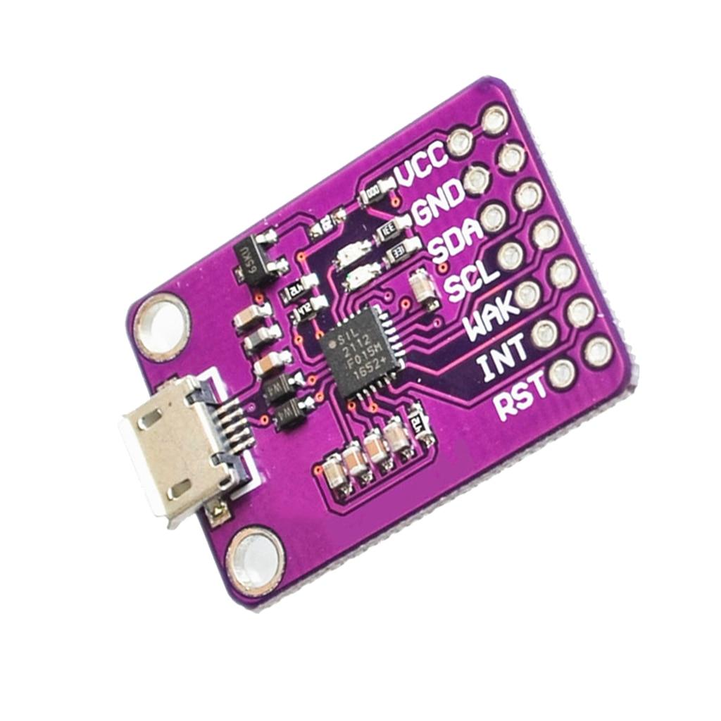 CP2112 Debug Board USB To I2C Communication Module 30 x 20 x 5mm