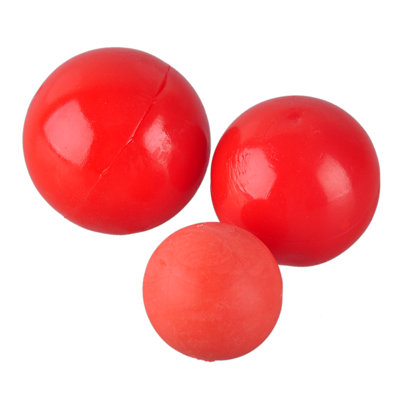 Red Solid Elastic Pet Ball Toys Newly Puzzle Rubber Chew Game Training Pet Dog Toy For Puppy Small Big Pets Dogs Jouet Chiot