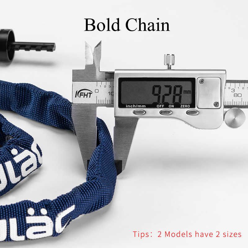 ULAC Bersepeda Sepeda Kunci Sandi MTB ROAD Sepeda Rantai Anti-Theft Lock Ultra Ringan Portable Kunci Keamanan Sepeda stabil Aksesoris