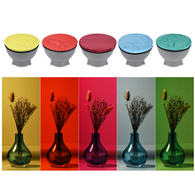 """Réflecteur stroboscopique Studio Standard 5 couleurs/Set accessoires de photographie Kit de tissu diffuseur doux pour 7 """"180mm"""