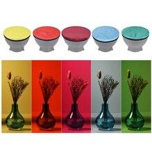 """סטודיו Strobe רפלקטור סטנדרטי 5 צבעים/סט אביזרי צילום אור רך מפזר בד קיט עבור 7 """"180 מ""""מ"""