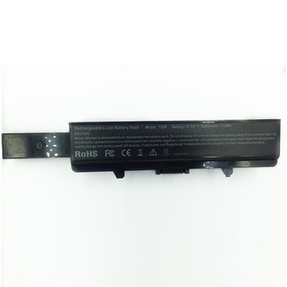 10400 mah für Dell laptop batterie 1526 Inspiron 1525 1545 1546 Vostro 500 K450N J399N G555N 0F965N J414N 312- 0940