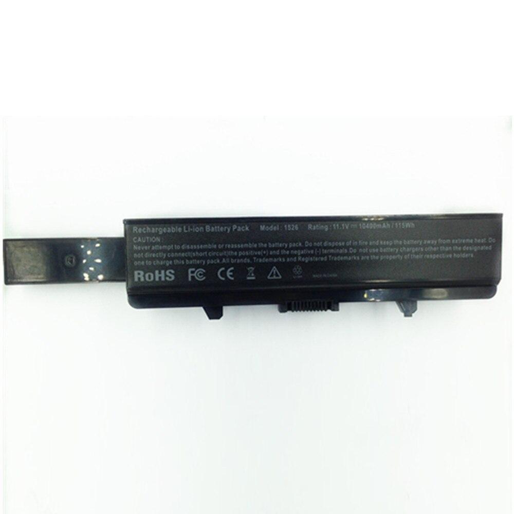 10400 mah pour Dell batterie d'ordinateur portable 1526 Inspiron 1525 1545 1546 Vostro 500 K450N J399N G555N 0F965N J414N 312- 0940