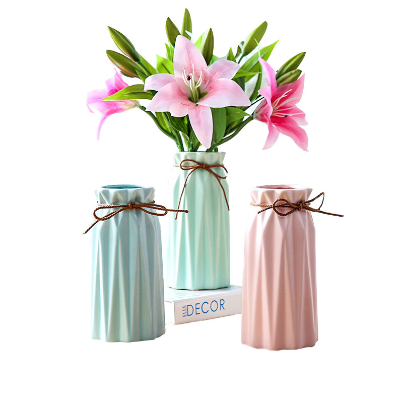 225 & US $15.82 40% OFF|Home Decor Ceramic Vase Classic Chinese Arts And Crafts Wedding Party Marca Long Color Decor Porcelain Flower Vases-in Vases from ...