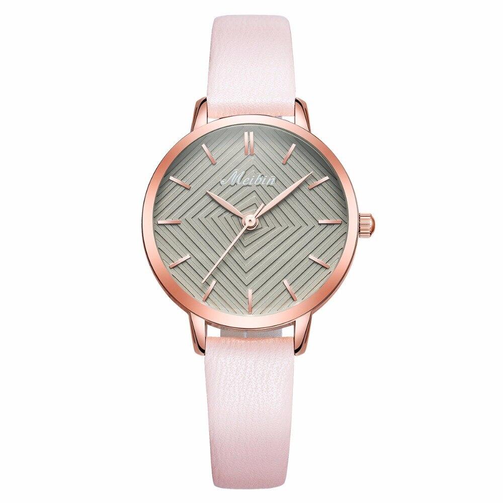 0a70de6c22f Mulheres Relógios Relógio para à Ladies de Pulso Meibin Luxo Marca Moda