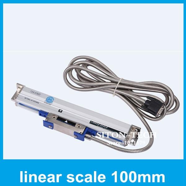 High precision position encoder Rational WTB5 5um 100mm linear encoder scale use on CNC lathe milling machine drilling machine  цены