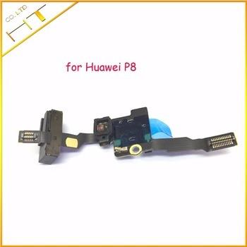 1 Uds nuevo reemplazo para Huawei Ascend P8 / P8 MAX auriculares Audio Jack Flex luz y se encuentra muy Cable Sensor