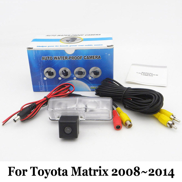 Car Backup Camera For Toyota Matrix 2008~2014 / RCA Wired Or ...