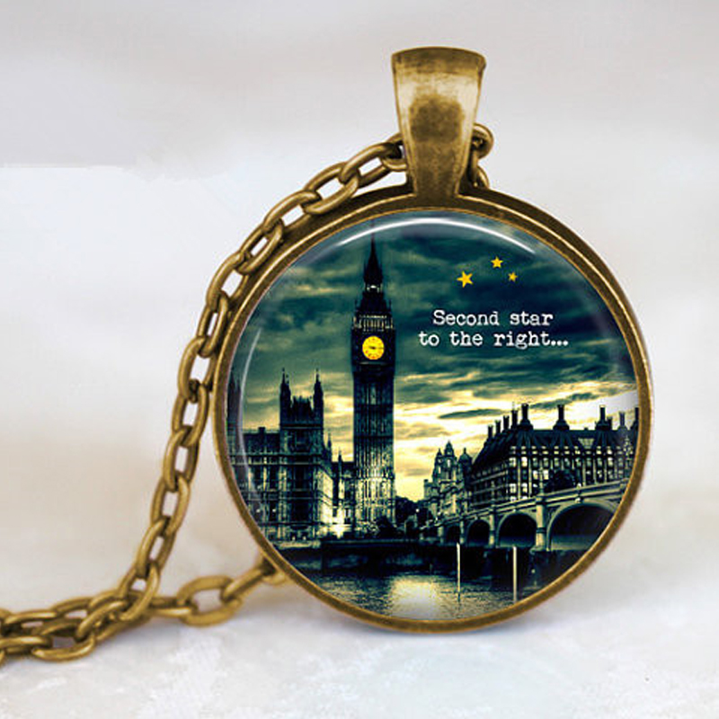 "PETER PAN ""Second Star to the Right"" Big Ben Pendant ..."