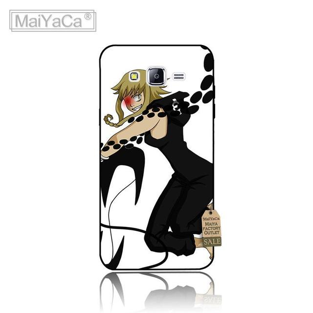 Anime Soul Eater cover Colourful Hard Plastic PC Phone Accessories Case For J1 J3 J5 J7 2015 2016