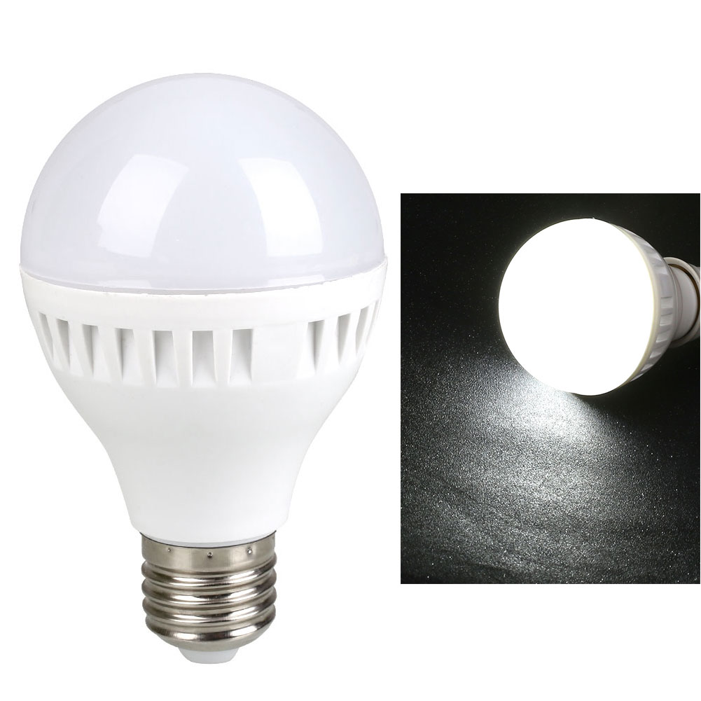 9w 220v e27 led bulb energy saving efficient screw light lamp 250lm white in led bulbs tubes Light bulbs energy efficient