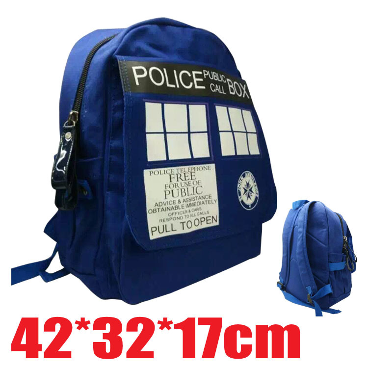 Doctor Dr Who Tardis Backpack Bag Good Quality In Stock shoulder bag npow 41 in stock good price good quality in stock 3 months warranty
