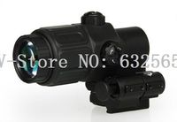Free Shipping Tactical Holographic Sight 3x Magnifier Rifle Scope Compact Scope With STS Mount For AR15