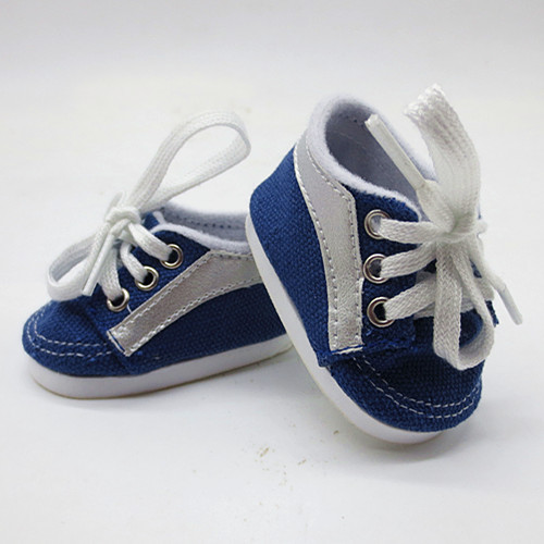 New Design American Girl Doll Shoes of Casual Style Blue Color Tennis Shoes for 18 American Girl Dolls and Other 18 Girl Dolls ...
