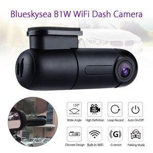 Image 1 - Blueskysea B1W 1080P IMX323 Novatek GM8135S מיני WiFi רכב דאש מצלמת DVR מצלמה 360 תואר לסובב G חיישן סופר קבלים