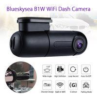 Blueskysea B1W 1080P IMX323 Novatek GM8135S Mini WiFi Car Dash cam DVR Camera 360degree Rotate G Sensor Super capacitor