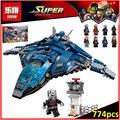 Лепин 07034 Совместимость Legoes Super Heroes Avangers Аэропорта Битва 76051 Строительные Блоки Модель Игрушки Для Детей
