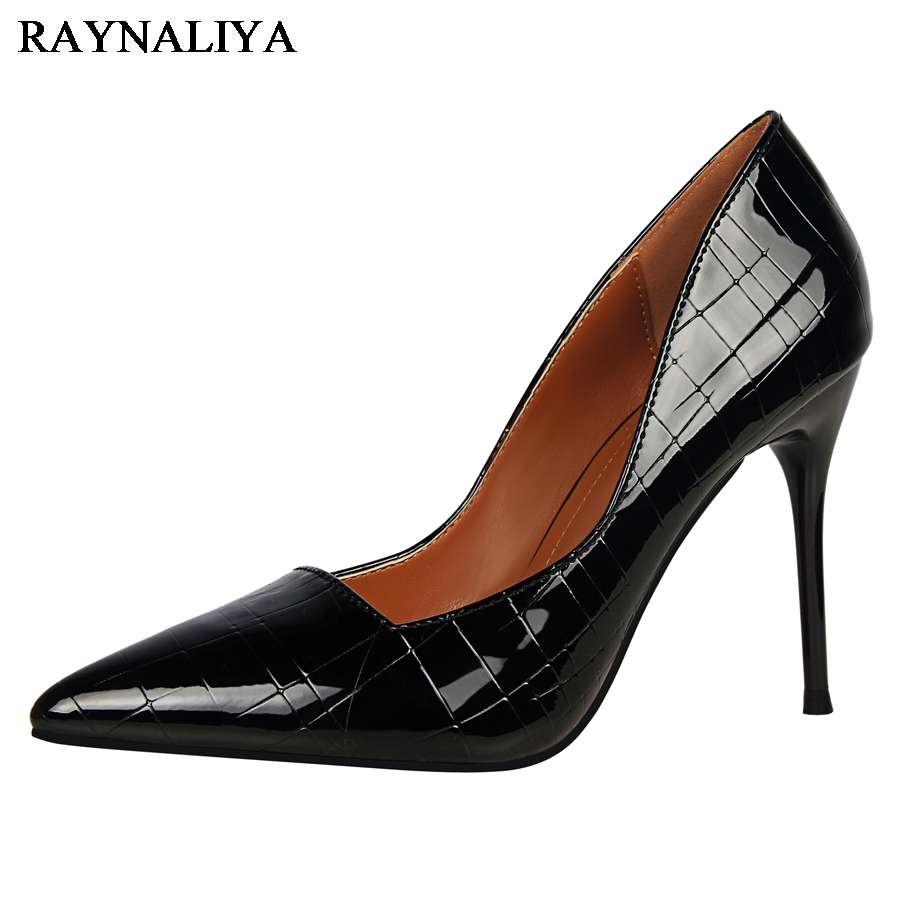 New 2017 Spring Autumn Women Pumps Sexy Gold Silver High Heels Shoes Fashion Pointed Toe Wedding Shoes Party Shoes DS-A0013 big size sale 34 43 new fashion sexy pointed toe women pumps spring summer autumn high heels ladies wedding party shoes 6629