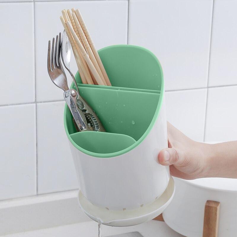 Aliexpress.com  Comprar ORZ cocina escurridor vajilla plato Rack organizador  de almacenamiento de cocina cuchillo cuchara tenedor palillos organizador  de ... df9b424935df