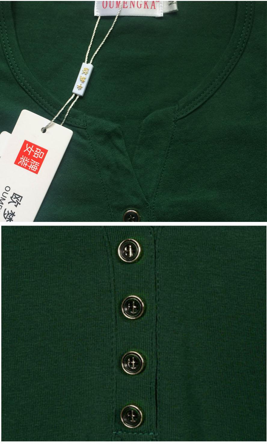 HTB17TKARXXXXXaIXFXXq6xXFXXXt - New Autumn Long Sleeve t-shirt Solid Womens Tops Fashion