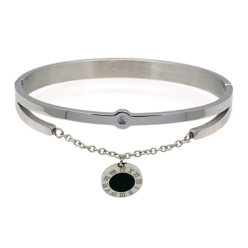 2016 mode smycken nya svarta harts kristaller kvinnor armband charm - Märkessmycken - Foto 3